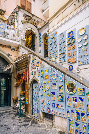 Shopping in Amalfi