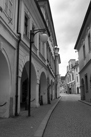 On the Empty Streets of Kutná Hora